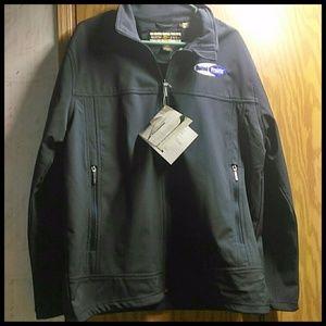 North End Navy Blue Jacket Large NEW Waterproof